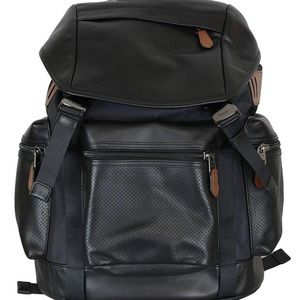 Men's COACH leather backpack